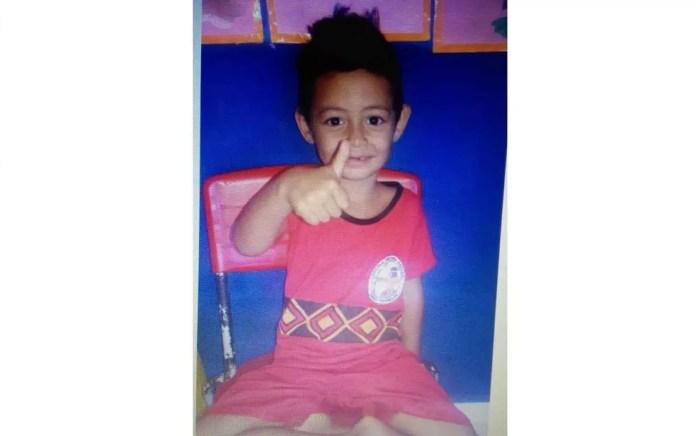 Menino de quatro anos morreu após ser baleado, durante ataque no sul da Bahia (Foto: Arquivo Pessoal)