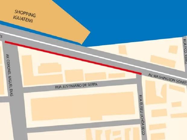 Segundo a Cagece, o projeto completo beneficia 12 bairros de Fortaleza (Foto: Arte/Cagece)