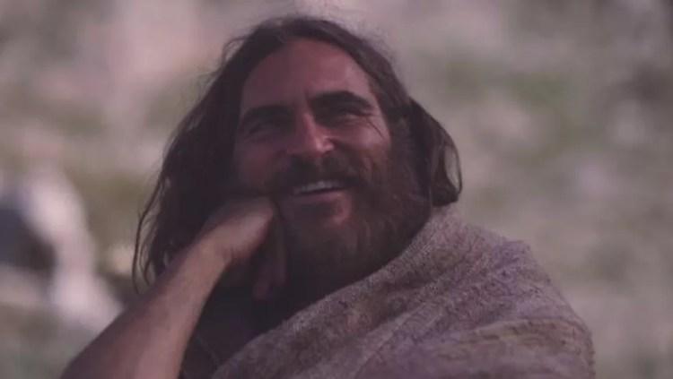 Joaquin Phoenix interpretou Jesus no filme 'Maria Madalena', de 2018 (Foto: Divulgação)