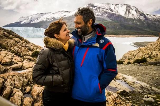 Miguel (Domingos Montagner) e Lígia (Debora Bloch) formam o casal protagonista de Sete Vidas, novela de Lícia Manzo (Foto: João Miguel JR./Globo)