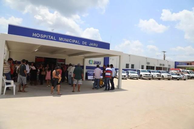 Menino foi atendido no Hospital Municipal de Jaru (Foto: João Gonçalves Junior/Facebook)