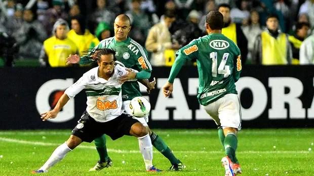 Coritiba x Palmeiras (Foto: Marcos Ribolli / Globoesporte.com)
