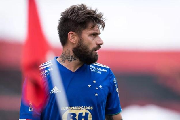 Rafael Sobis, atacante do Cruzeiro — Foto: Bruno Haddad/Cruzeiro
