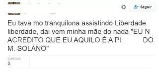 """Cena em novela da Globo em riacho aguça internautas: """"zíper tá aberto?"""""""