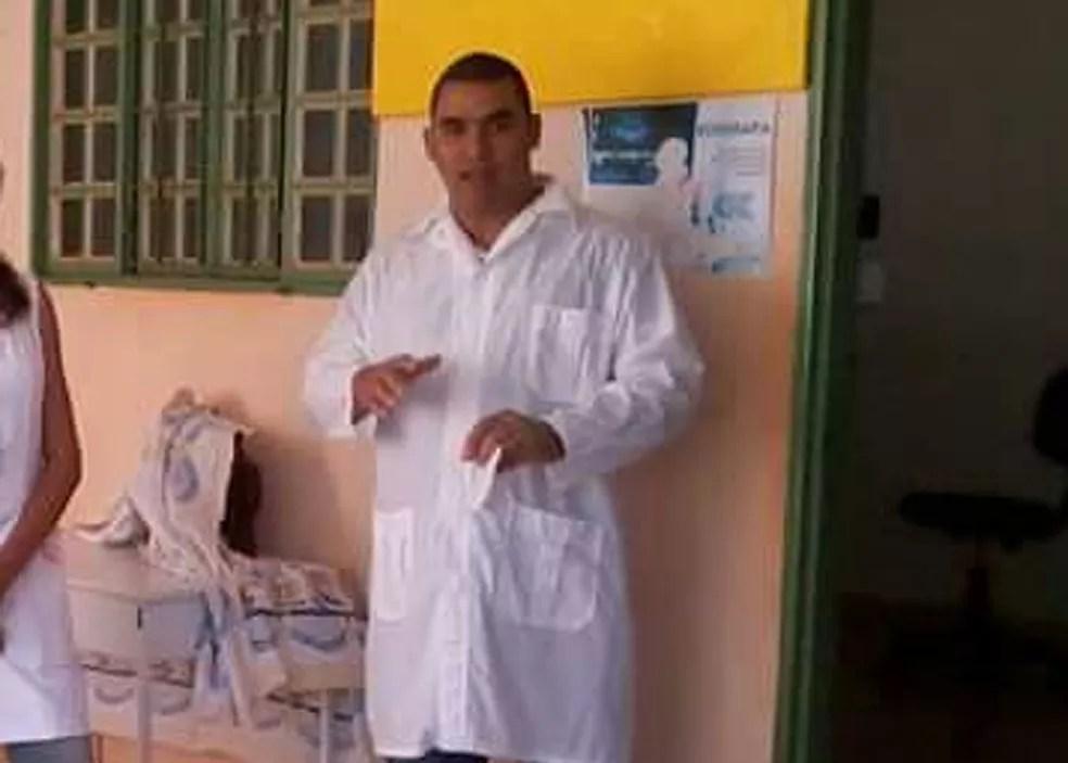 Médico cubano em Valparaíso de Goiás (Foto: Arquivo Pessoal)