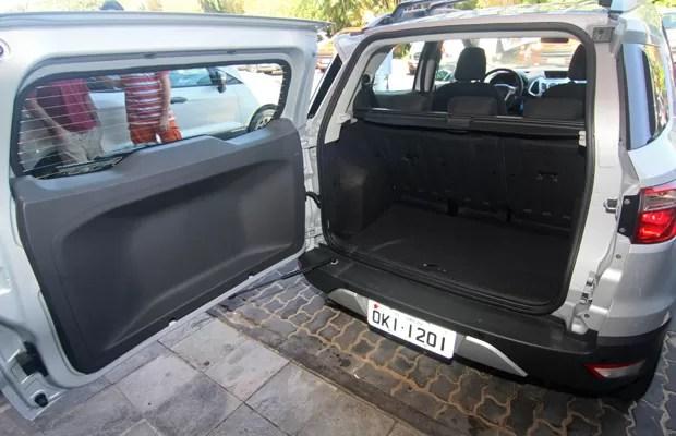 novo ford ecosport (Foto: Canindé Soares/G1)