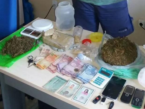 Drogas ourém (Foto: Divulgação/ Polícia Civil)