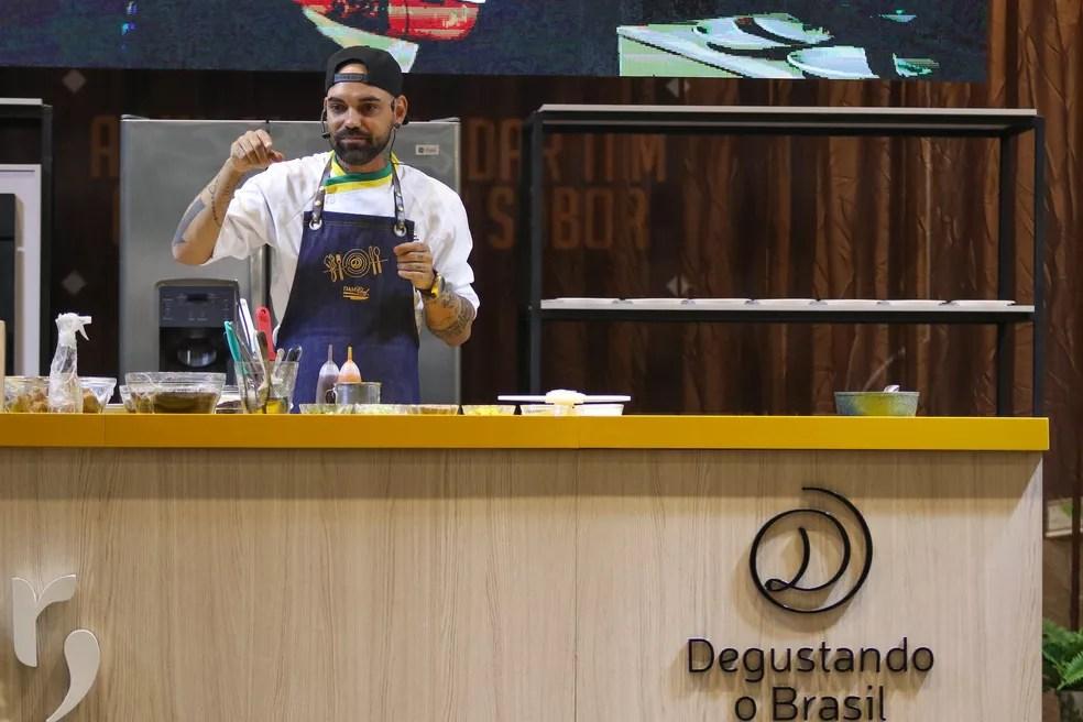degustando thiago chiericatti 12 - Festival gastronômico 'Degustando o Brasil' começa nesta quinta em Campina Grande