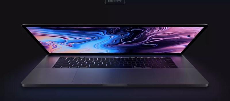 MacBook Pro lançado em 2018 já trazia um cabo flex mais comprido, resolvendo o problema — Foto: Divulgação/Apple