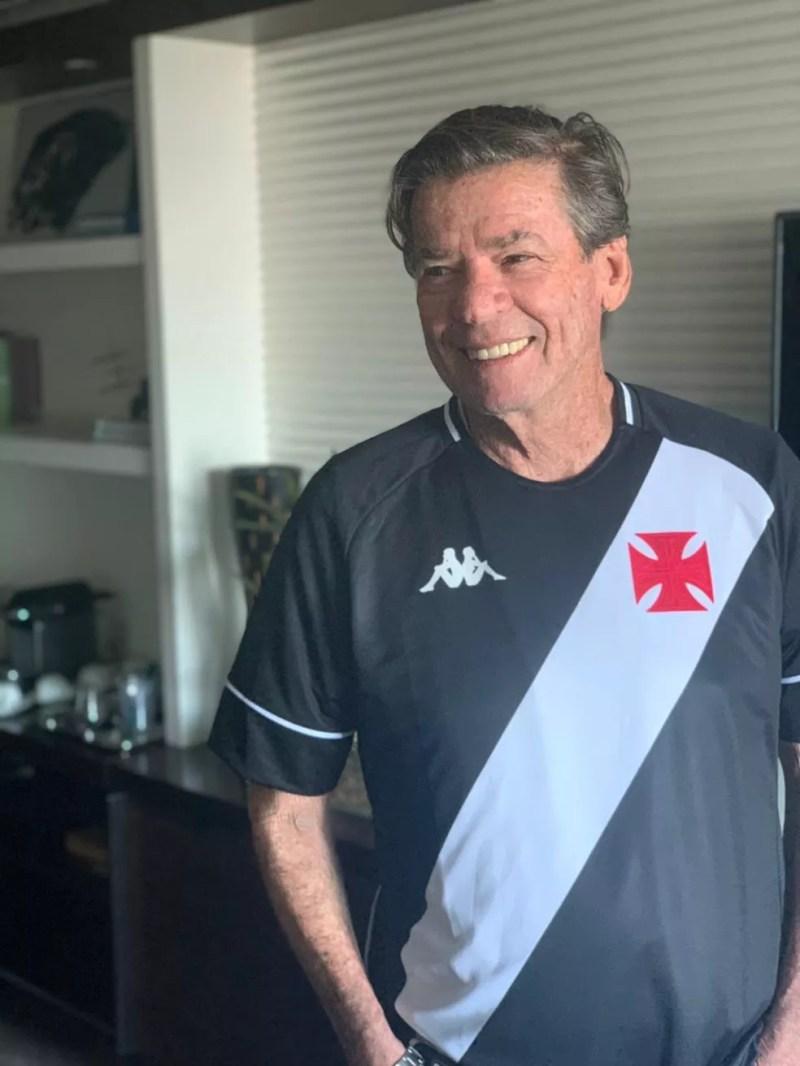 """Jorge Salgado representa a união de grupos pela """"Mais Vasco"""" — Foto: Mais Vasco/Divulgação"""