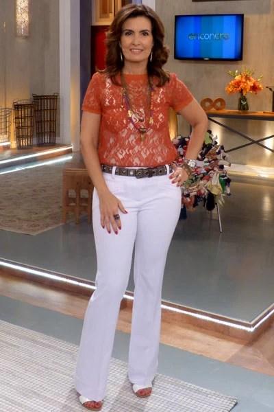 Fátima Bernardes (Foto: TV Globo/Encontro com Fátima)