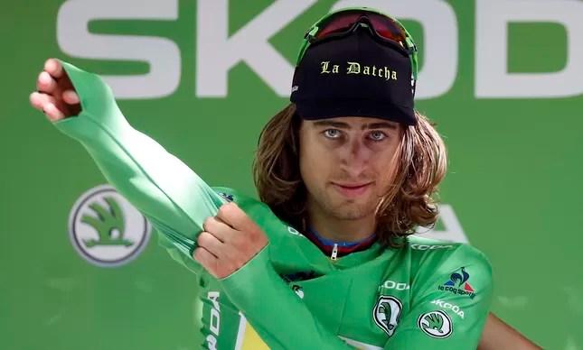 Sagan veste a camisa verde de melhor veloicista do Tour de France até agora. O campeão mundial de estrada levou sua 3ª etapa nesta edição número 103 do Tour de France
