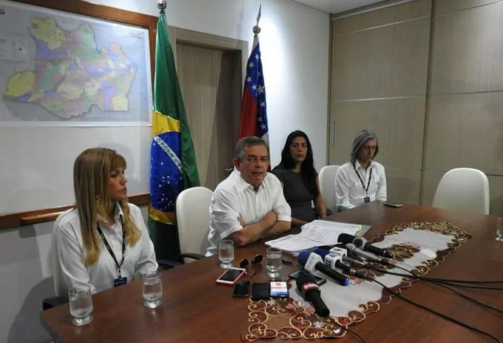 Concurso da Seduc foi anunciado em Manaus (Foto: Adneison Severiano/G1 AM)