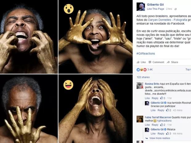 reações facebook 1 (Foto: Reprodução/Facebook)