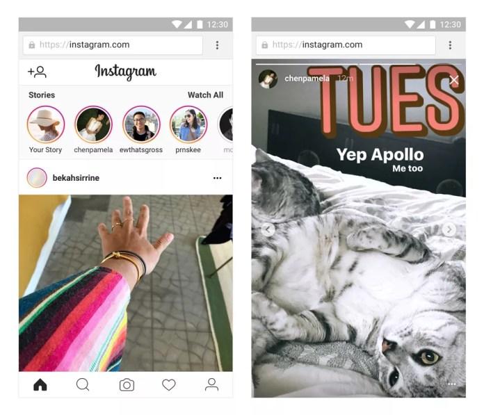 Instagram Stories ganha versão para web. (Foto: Divulgação/Instagram)
