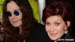 Sharon com o marido Ozzy Osbourne (Foto: Getty Images/BBC)