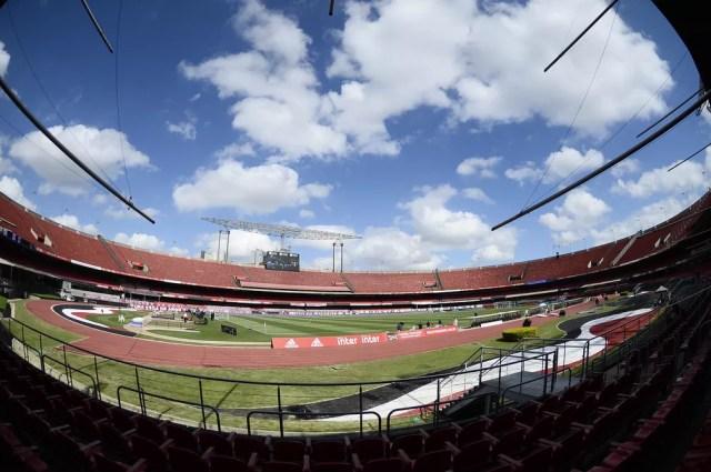 Estádio do Morumbi: a casa do São Paulo — Foto: Marcos Ribolli