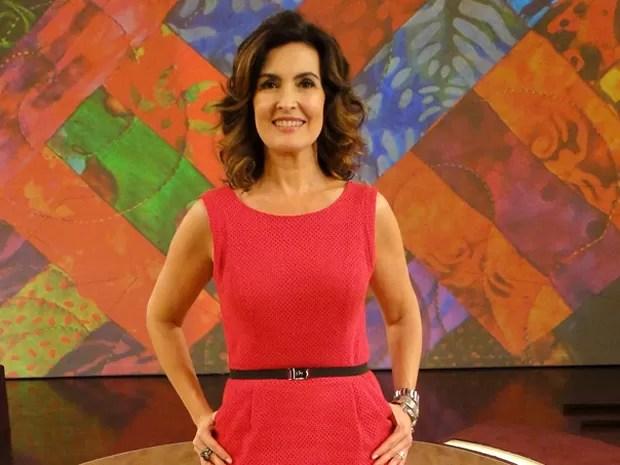 Fátima vai bater um papo sobre a educação dos filhos (Foto: Encontro com Fátima Bernardes/ TV Globo)