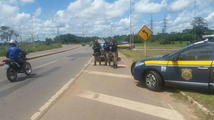 PRF afirma que posto nunca foi fechado e eram realizadas ações constantemente — Foto: Divulgação/PRF-AC