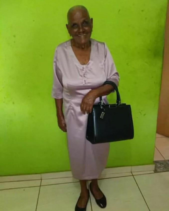 Isabel Delfina Ferreira morreu de Covid-19 aos 92 anos — Foto: Arquivo pessoal