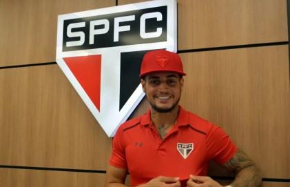 Jean é a maior novidade do São Paulo para 2018 (Foto: Érico Leonan / saopaulofc.net)