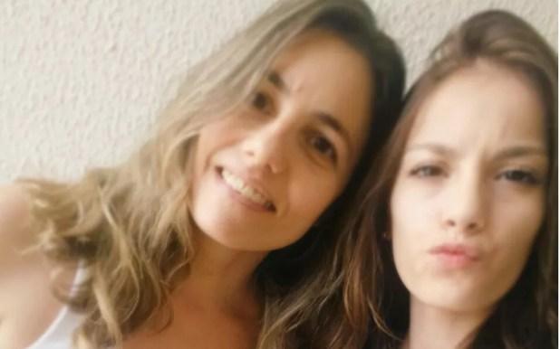 Maria Paula conta que não consegue esquecer morte da filha (Foto: Reprodução/Arquivo pessoal)