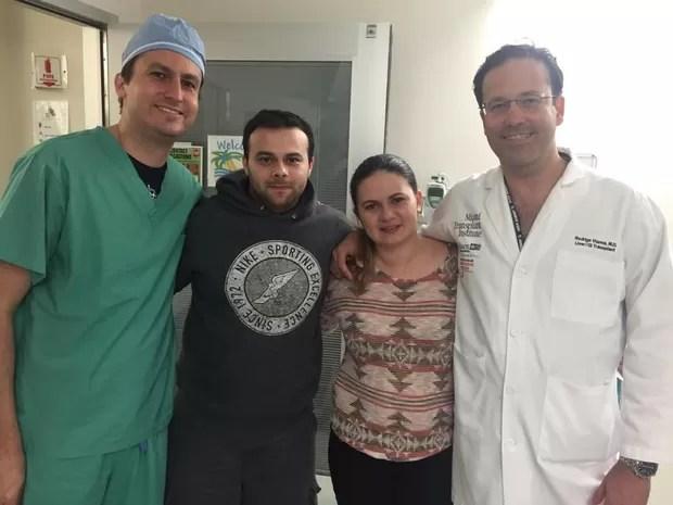 Sofia deixou o centro cirúrgico  (Foto: Campanha Ajude a Sofia/Divulgação)