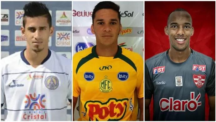 Geovane, Wagner, Reynaldo, Confiança (Foto: Arte/GloboEsporte.com)