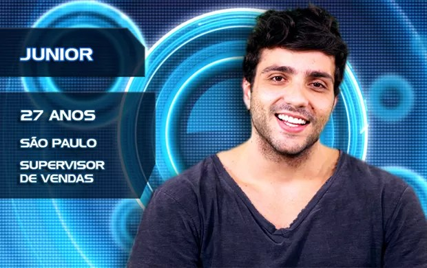 Junior (Foto: TV Globo/BBB)