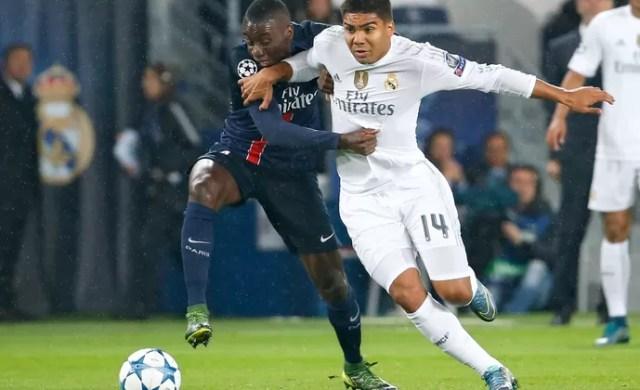 Casemiro Real Madrid PSG (Foto: AFP)
