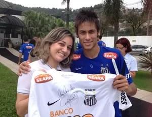 Neymar e Katia (Foto: Divulgação)
