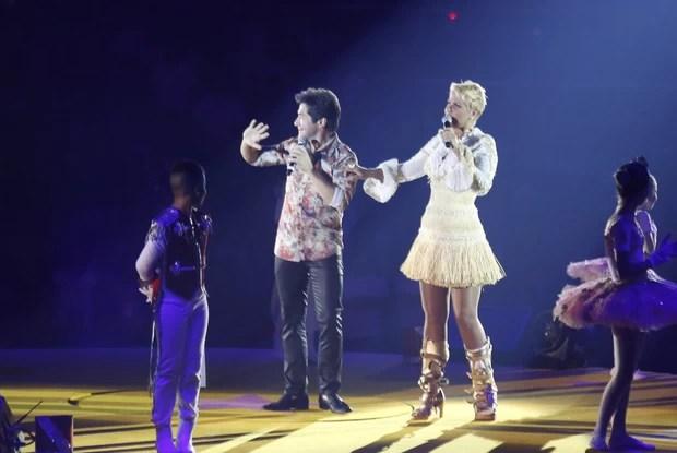 """Daniel no show """"Natal Mágico da Xuxa"""" (Foto: Felipe Assumpção /AgNews)"""