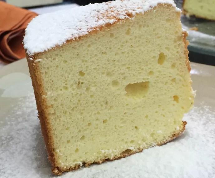 Bolo Chiffon de Limão (Foto: Mais Você/Gshow)