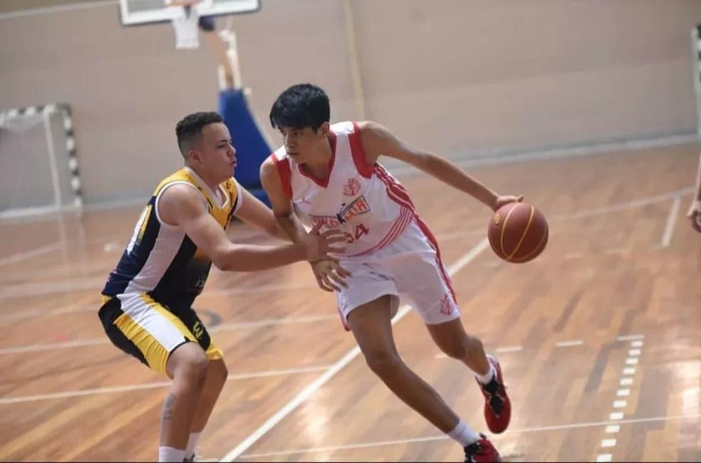 Atleta é ala-pivô do Regatas — Foto: Reprodução / Federados Basketball