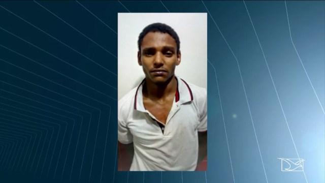 Segundo a polícia , Francisco Marques da Silva Mota havia saído do presídio horas antes de cometer o furto. (Foto: Reprodução/TV Mirante)