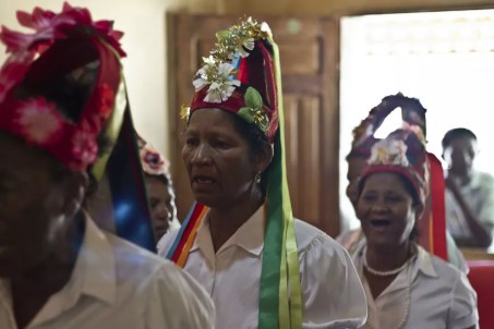 Reisado Inhanhum é tradicional do Sertão do São Francisco (Foto: Jan Ribeiro/Secult-PE/Divulgação)