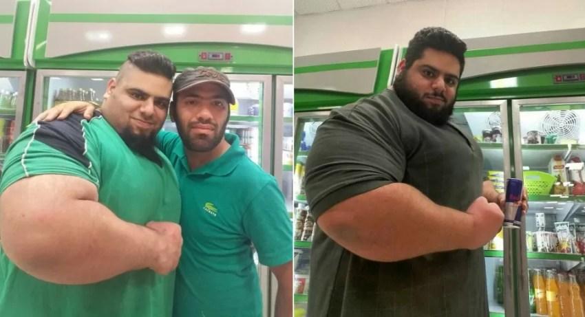 Ele conseguiu uma proeza para um iraniano: mais de 60 mil seguidores no Instagram