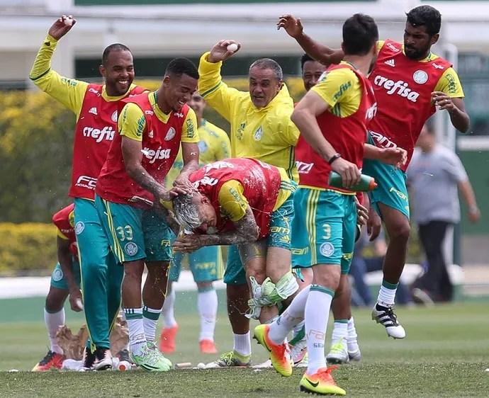 Róger Guedes Palmeiras (Foto: Cesar Greco/Ag Palmeiras/Divulgação)