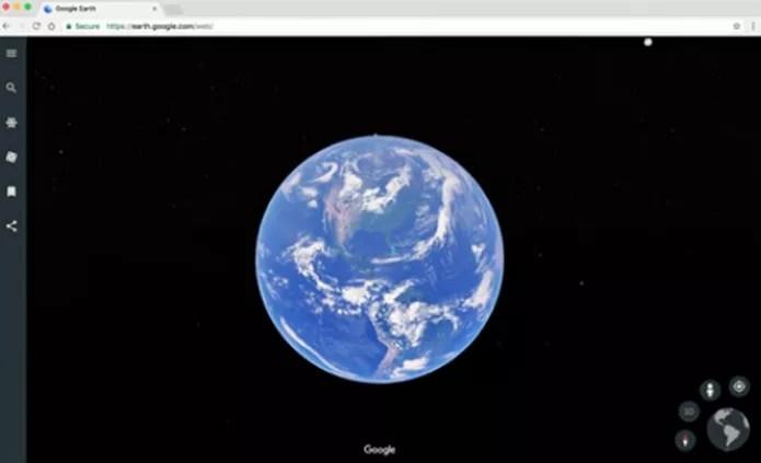 Google Earth (Foto: Reprodução/Google)