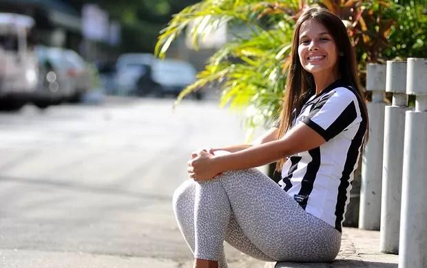 Fernanda Maia gândula do Botafogo especial (Foto: André Durão / Globoesporte.com)
