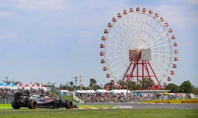 McLaren Suzuka GP do Japão (Foto: Getty Images)