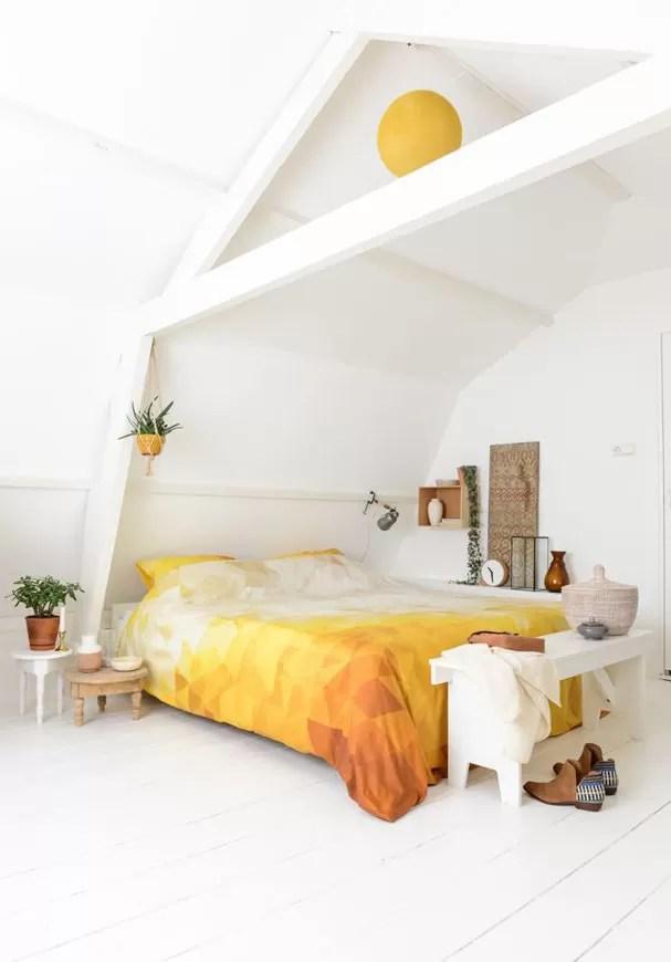Decoração de quartos brancos  (Foto: Reprodução)