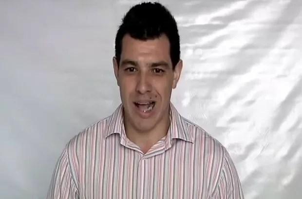 César Lima, participante do BBB15 (Foto: Reprodução / Youtube)