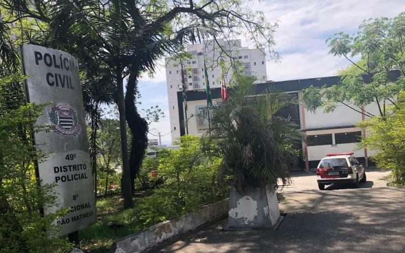 O caso é investigado pelo 49º Distrito Policial (DP), em São Mateus, Zona Leste de São Paulo — Foto: Kleber Tomaz/G1