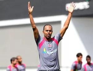 Alecsandro no treino do Vasco (Foto: Marcelo Sadio / Site Oficial do Vasco da Gama)