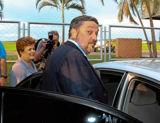 Antonio Palocci ex-coordenador da campanha de Dilma Roussef (Foto:  Alan Marques/Folhapress)