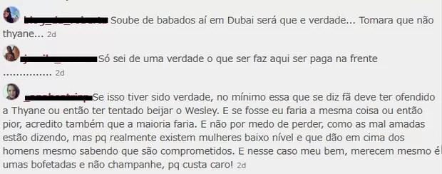 Crise de ciúme de mulher de Wesley Safadão divide fãs do cantor na web