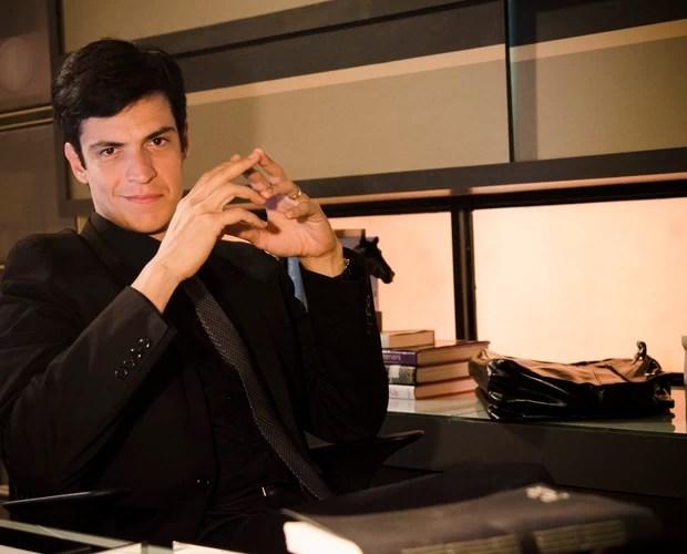 Mateus Solano fala sobre o Félix, de Amor à Vida (Foto: TV Globo/Raphael Dias)