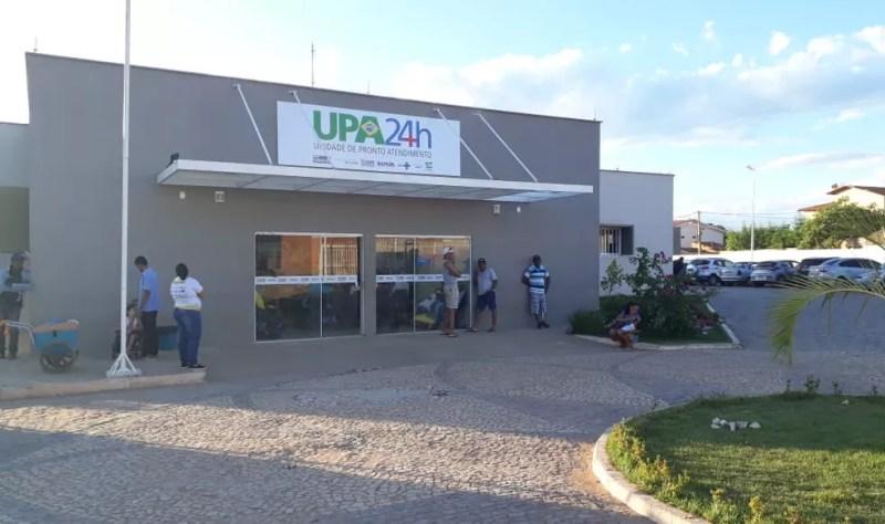 Unidade de Pronto Atendimento (Upa) de Barreiras  — Foto: Carlos Augusto/TV Oeste