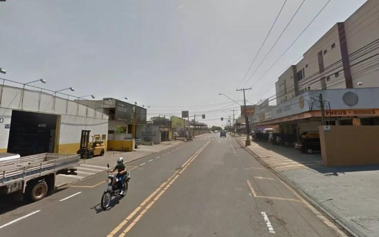 Avenida Cenobelino de Barros Serra é conhecido ponto de prostituição (Foto: Reprodução/Google)